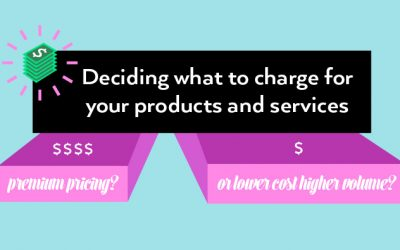 How much do you charge for your products or services?